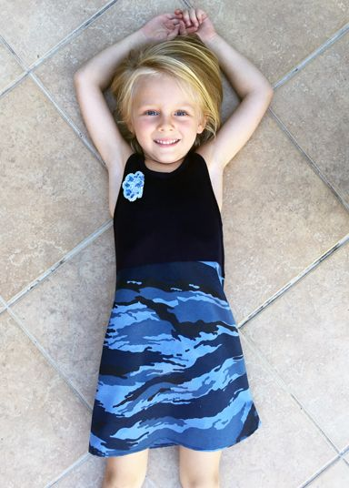 Camo Rokkies beautiful summer dresses for girl www.momentswithmom.com