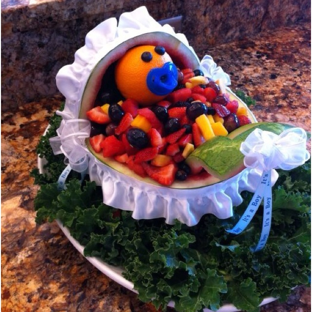 Baby shower fruit salad | party ideas | Pinterest | Baby ...