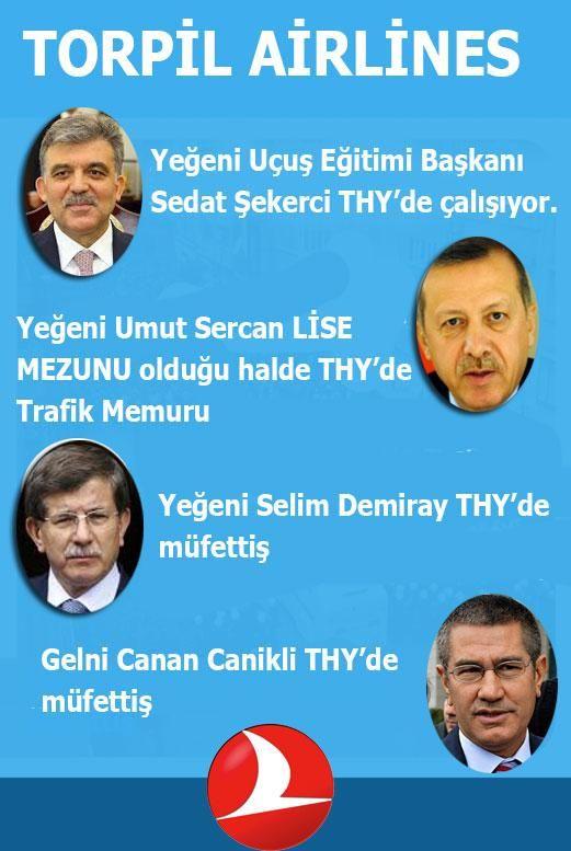AKP utanır mı bilinmez ama tarih yolsuzluk ve torpil skandalını unutmayacak. AKrabaKalkındırma TorpilPartisi
