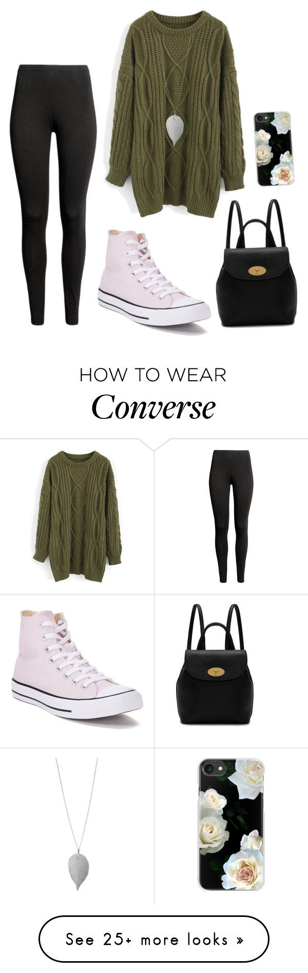 """Coffee date with friends"" by whitneanea on Polyvore featuring Chicwish, Converse, Humble Chic, Mulberry, Casetify and CoffeeDate"