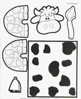 Molde vaca