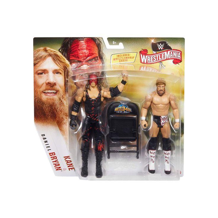 WWE WRESTLEMANIA 36 Battle Pack Kane /& DANIEL BRYAN