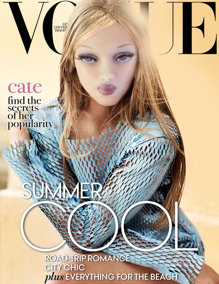 """fDA inspired by Vogue  Fashion Doll Agency 16"""" fashion dolls hand painted by Nunzio Carbone Paris, France"""