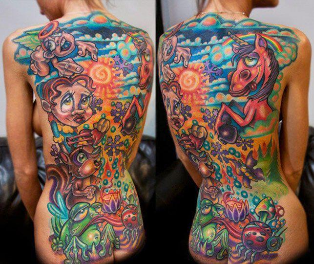 Tattoo by Josh Woods | Tattoo No. 3163