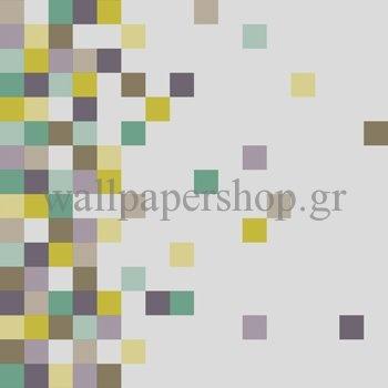 Ταπετσαρίες Τοίχου :: Pop Up Turqoise No 6820 - WallpaperShop