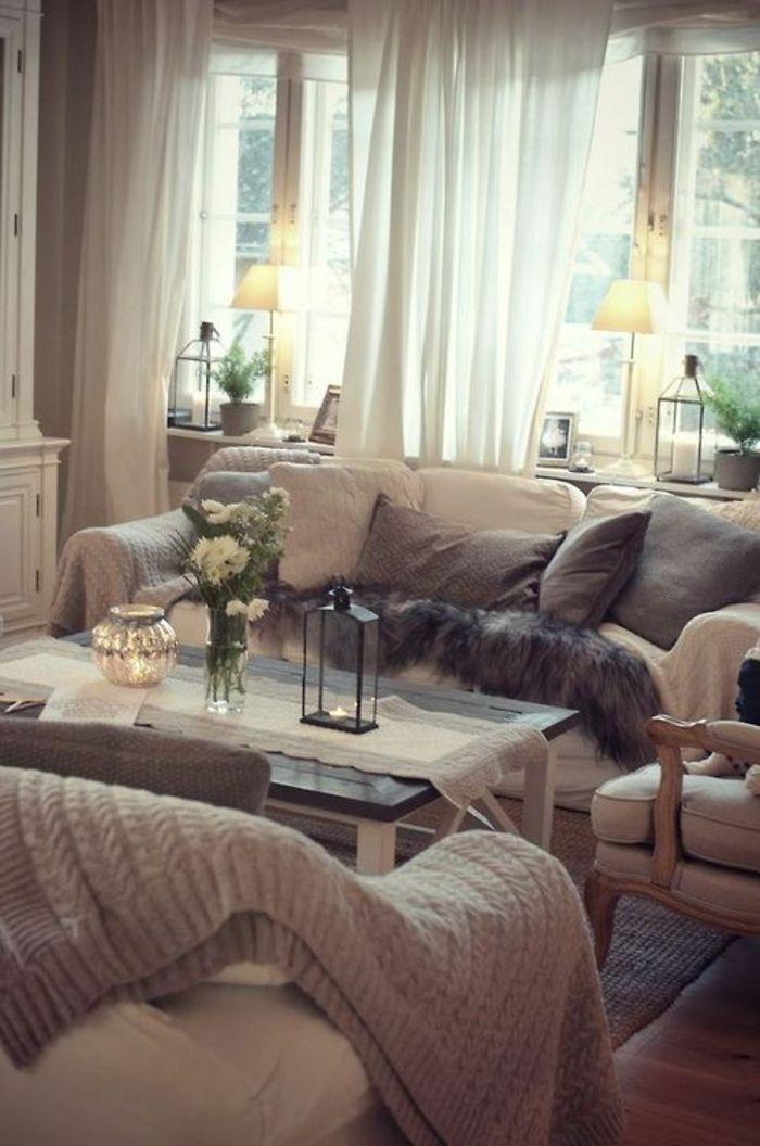 1001 tolle ideen f r fensterdeko mit fensterbank lampen. Black Bedroom Furniture Sets. Home Design Ideas