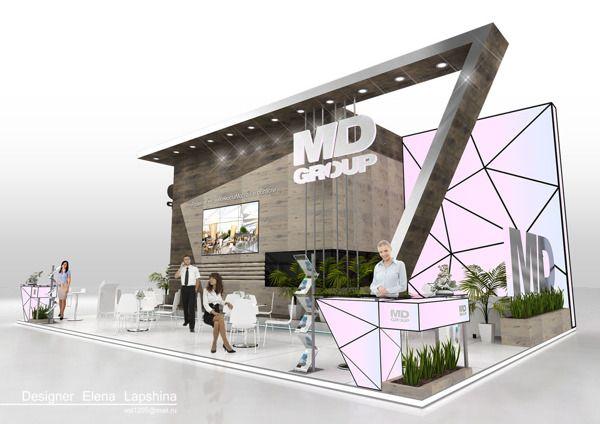 MD Group by Elena Lapshina, via Behance