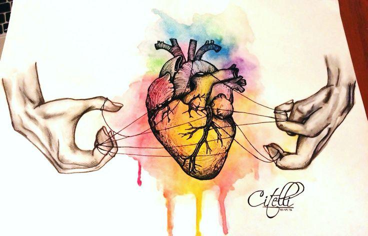 HeArt. Watercolors
