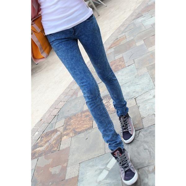 Деним джинсы женские