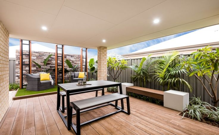 Outdoor entertaining is easy with your undercover Alfresco
