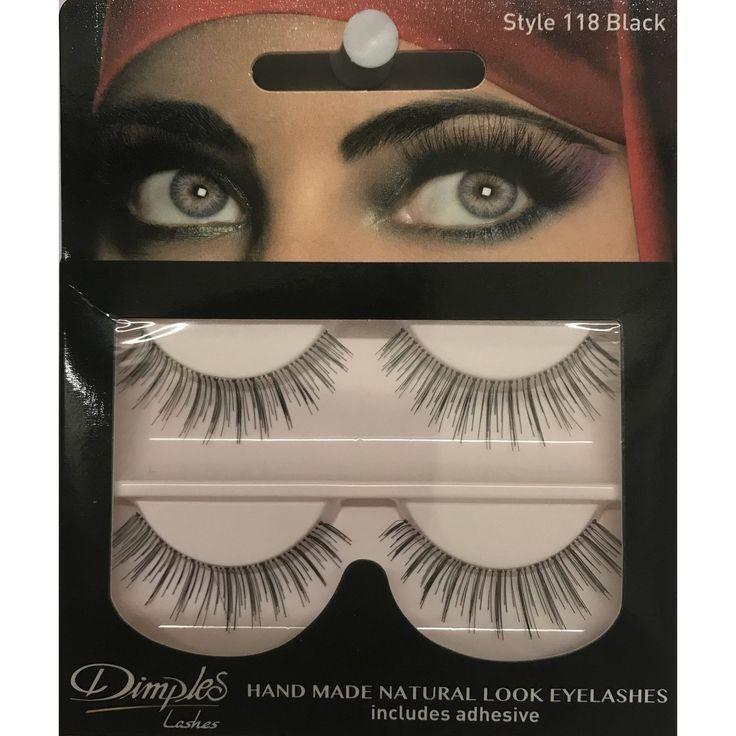 Buy Dimples False Eyelashes 118 Online at Cosmetics4uonline.co.uk - Cosmetics4uOnline.co.uk