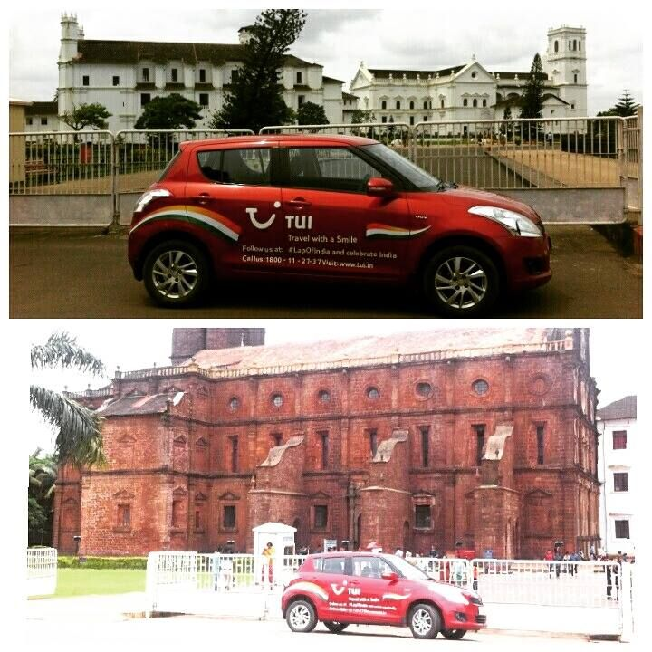 Have you spotted the ‪#‎TuiCar‬? We are on our way to discover local parts of the country and bring you all the juicy details that will help you during your travels! Follow us on our ‪#‎LapOfIndia‬