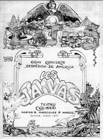 Los Jaivas, Buenos Aires 1977