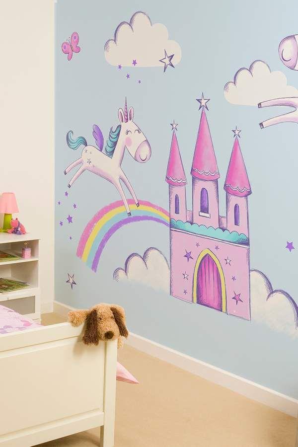 Mermaid Wall Sticker Fairy Tale Fantasy