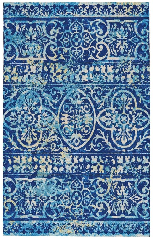 feizy feizy hydra 4114f azure area rug - Colorful Area Rugs