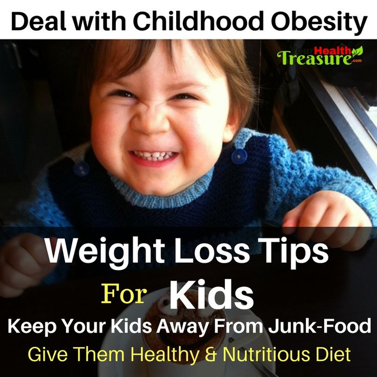 Weight Loss For Kids: Deal With Childhood Obesity Help Kids Lose Weight