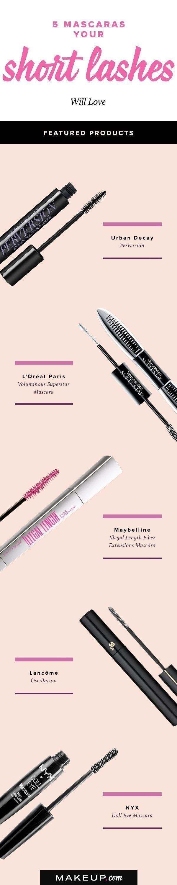 5 Mascaras Your Short Lashes Will Love