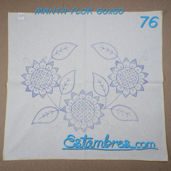 Manta Disenos En Tela Listos Para Bordar Perfectos Para Servilletas De Cocina Cojines O Cuadros Para La Casa Embroidery Patterns Hand Embroidery Embroidery