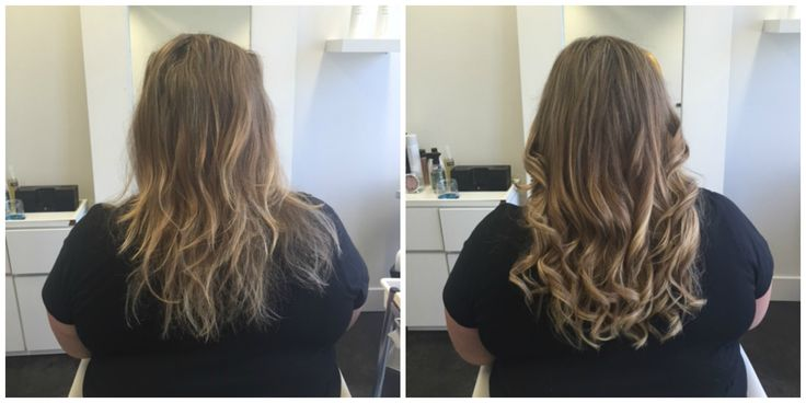 A set of remy extensions doesn't always have to be super dramatic! Cate, is enjoying a 'small' set with some volume to help add to her summer ombre.   #hairextensions #remyhairextensions #ombreextensions #clipinextensions #besthairextensions