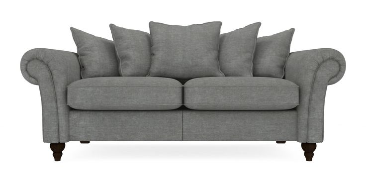Modern Sectional Sofas Buy Gosford Scatter Back Large Sofa Seats Soft Marl Mid French Grey LowTurned Dark Next Lounge Pinterest Large sofa French grey and Sofa seats
