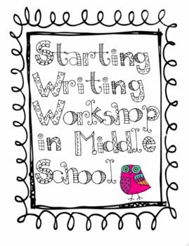 12 best Middle School Writers' Workshop images on