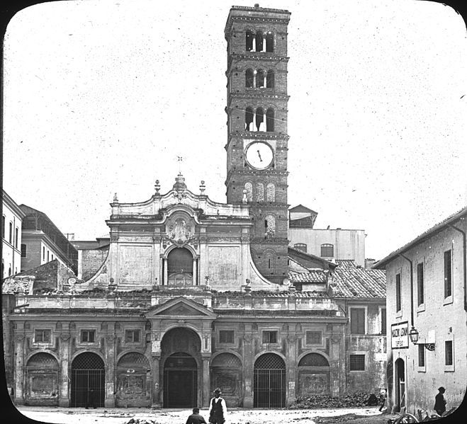S. Maria in Cosmedin, Rome, Italy before 1923