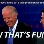 Joe Biden's Creepy Laughter During VP Debate Turns Twitter Against Him