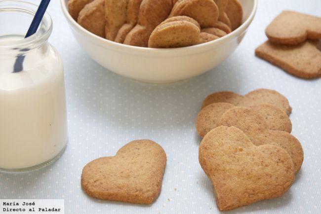 Receta de galletas crujientes de dulce de leche