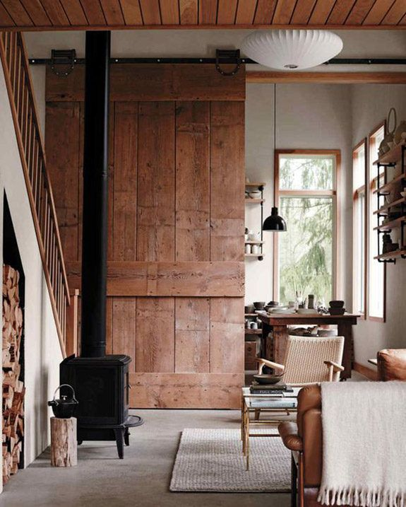 when i see photos from design*sponge founder grace bonney's upstate new york house, i often fantasize about what it might be like to live in such a wide open space, surrounded by countryside. and this
