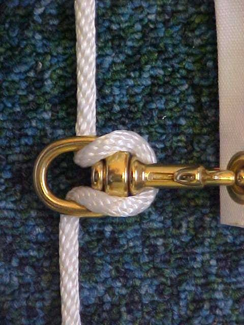 How to re-rope a flagpole, rerope a flagpole
