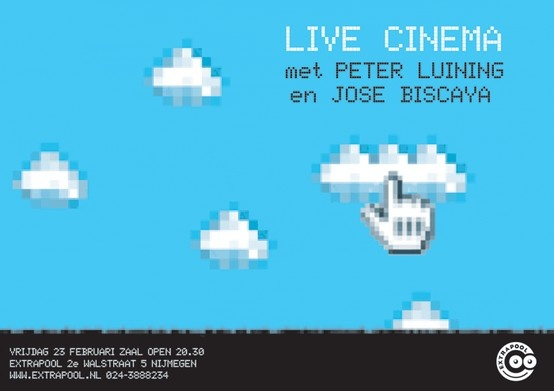 Live Cinema #extrapool #redbol