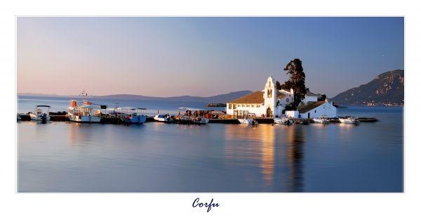 Sunrise in Corfu
