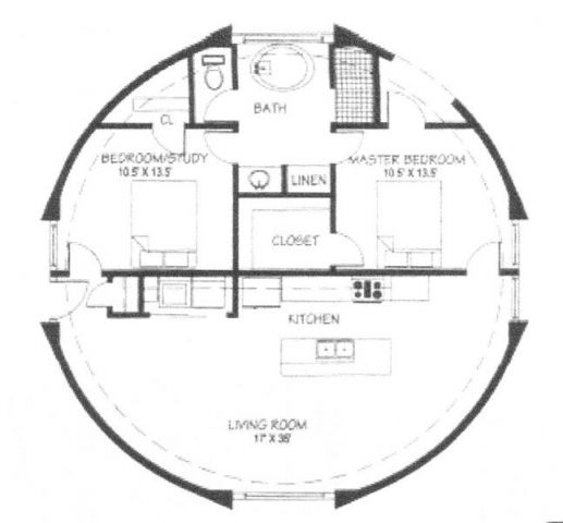 Dome Home Floor Plans: 27 Best Hobbit Houses Images On Pinterest
