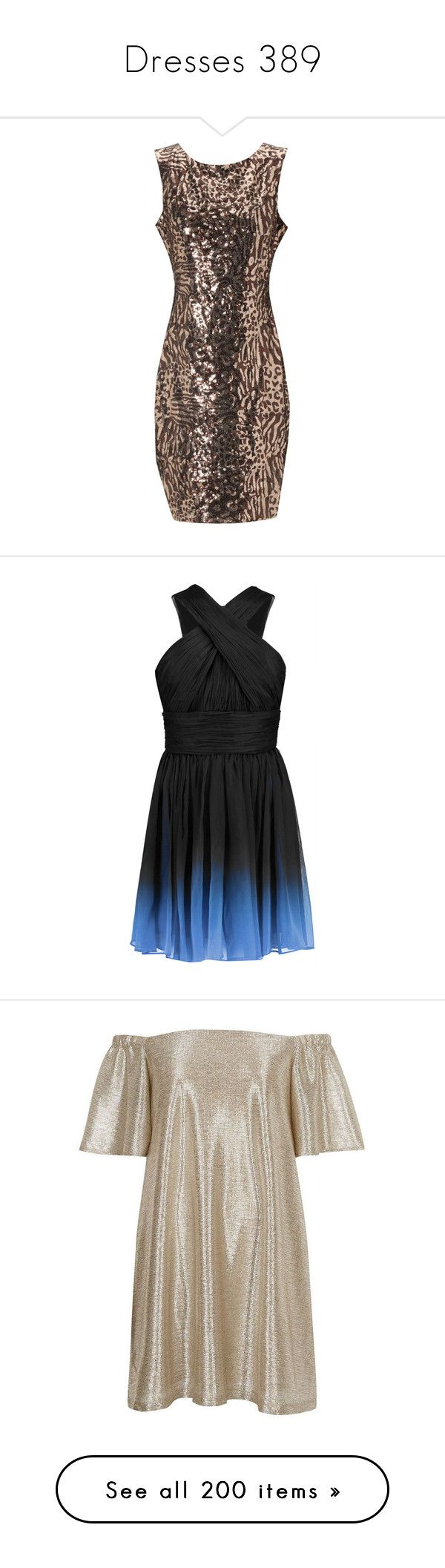 """Dresses 389"" by singlemom ❤ liked on Polyvore featuring dresses, bronze, sexy short dresses, sexy dresses, animal print dress, short summer dresses, summer cocktail dresses, short dresses, vestidos and black"