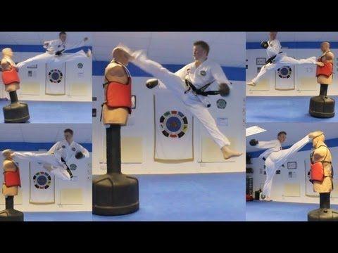 ▶ Taekwondo Kicking and Training Sampler on the BOB XL - YouTube