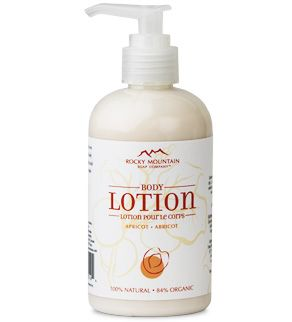 Apricot Body Lotion - Rocky Mountain Soap   Best lotion ever!!!!