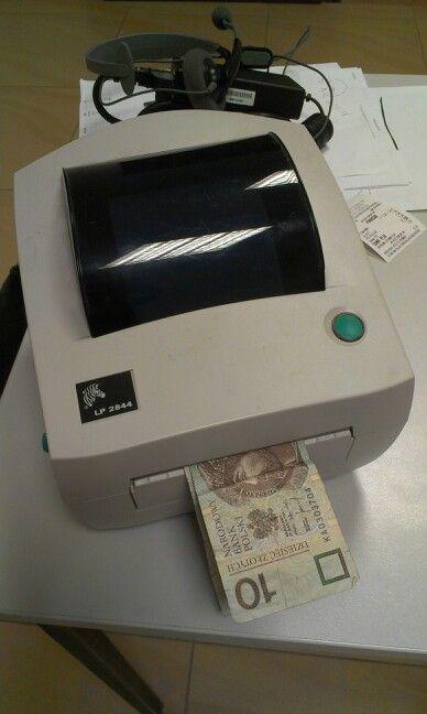 Ten firmware drukuje tylko dyszki.