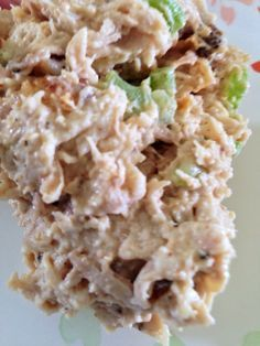 Simple chicken salad. Low Carb, high protein, high fat, paleo, ketogenic, WLS recipe, VSG recipe, Bariatric Recipe from www.twosleevers.com