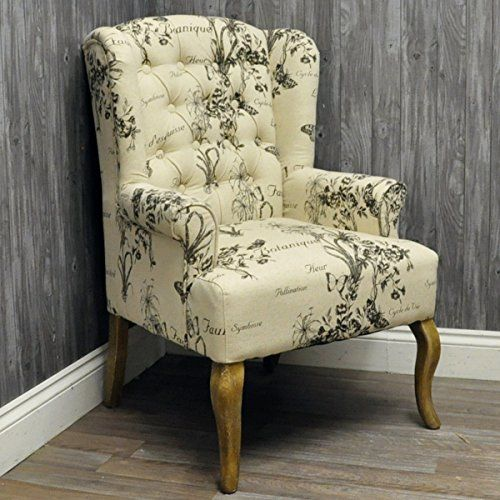 Antique Style Cream Linen Fabric Buttoned Back Louis Bedroom Chair AcaciaHome http://www.amazon.co.uk/dp/B007THDJH8/ref=cm_sw_r_pi_dp_GAgKvb1J59HSS