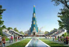Religious Gateway from Delhi