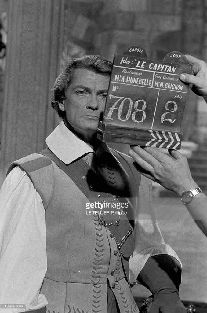 News Photo : Film 'Le Capitan' By Andre Hunebelle With Jean...
