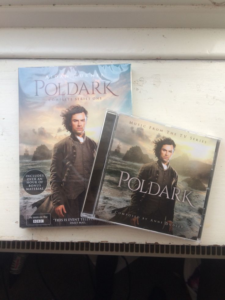 Poldark DVD And CD Arrived Today... Super Excited....