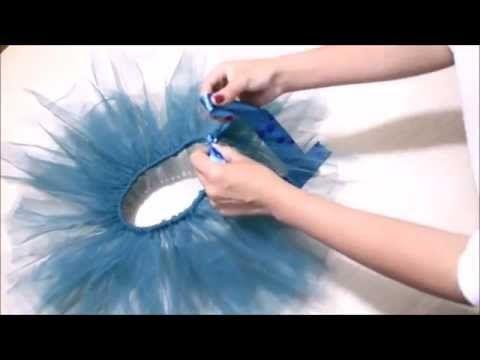 Disfraz de payaso con falda de tul sin coser - YouTube