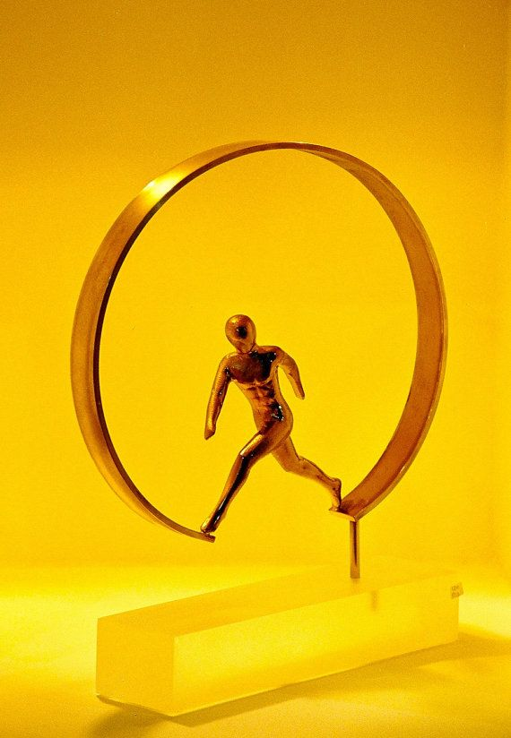Running figurine by ArchStudioGallery on Etsy, €240.00
