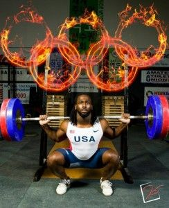 Olympic Weightlifter Kendrick Farris Goes for the Gold