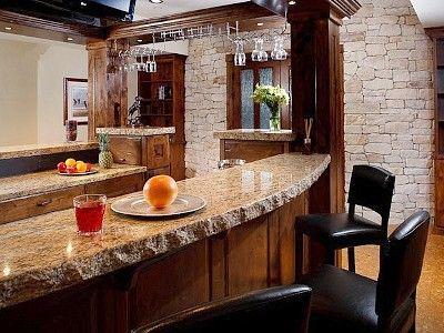 Santa Cecilia Classic or Venetian Pearl granite bar top