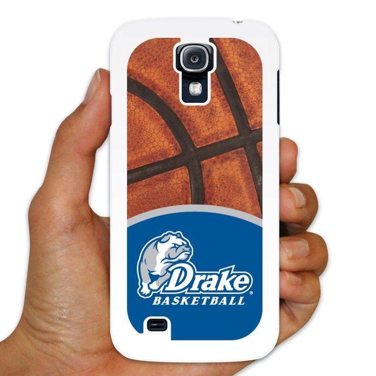 "Drake Samsung Galaxy S4 Case "" Basketball Background "" White Plastic"