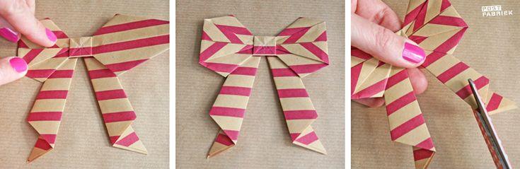 origami strik - Postfabriek