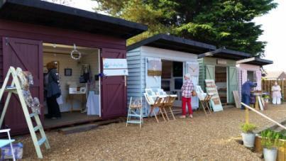Pop Up Shops at Dalegate Market in Burnham Deepdale
