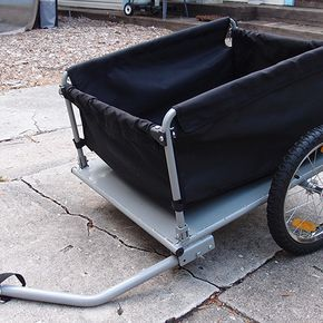 Cargo Trailer for Mobility Scooter with Custom Trailer Hitch